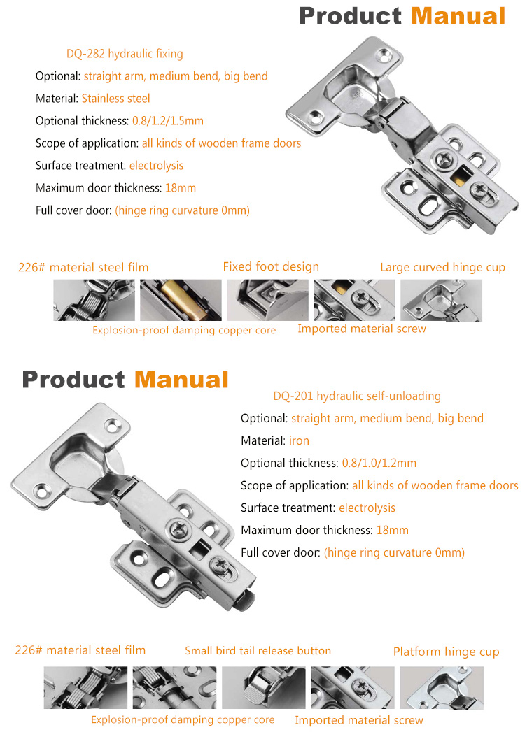 China Cheap And Best Iron Chair Cabinet Folding Bed Touch Dimmer Switch Hinge