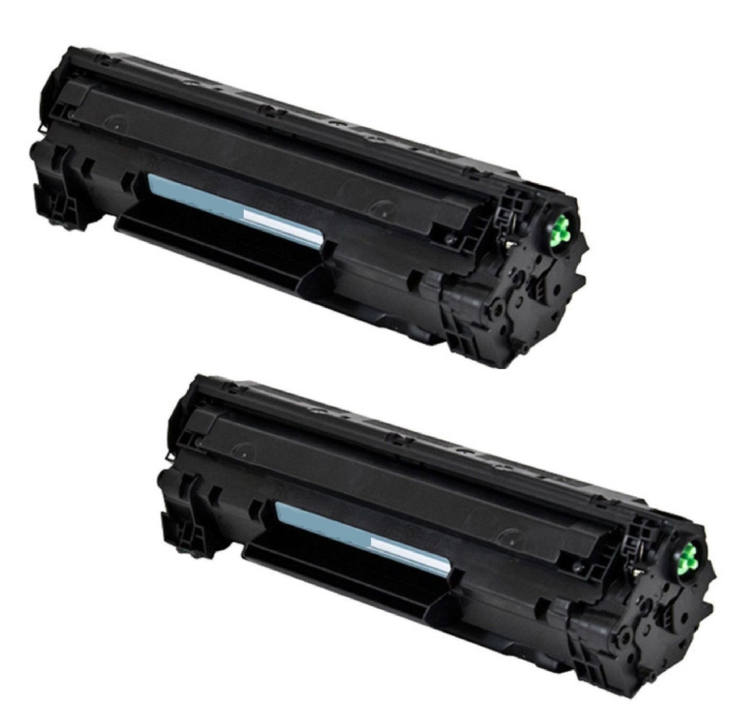 Buy Oimage 2 Pack 83a Cf283a Toner Cartridge Replacing For Hp Black Compatible Laserjet Pro M201dw