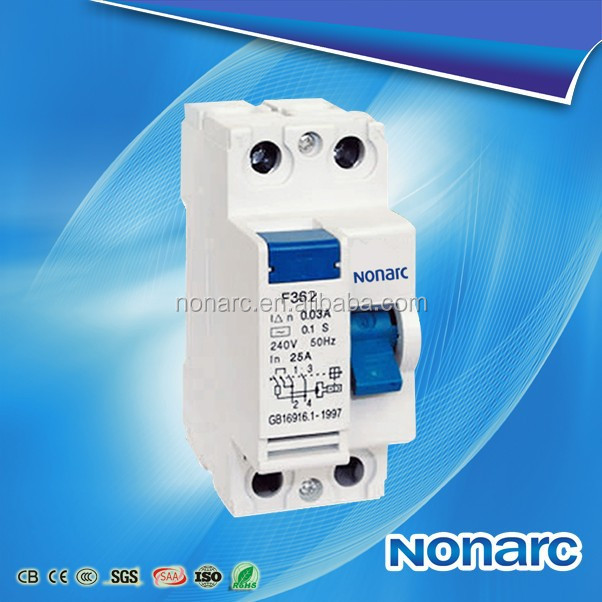 F360 4P Circuit Breaker Rcd, 400V Three Phase