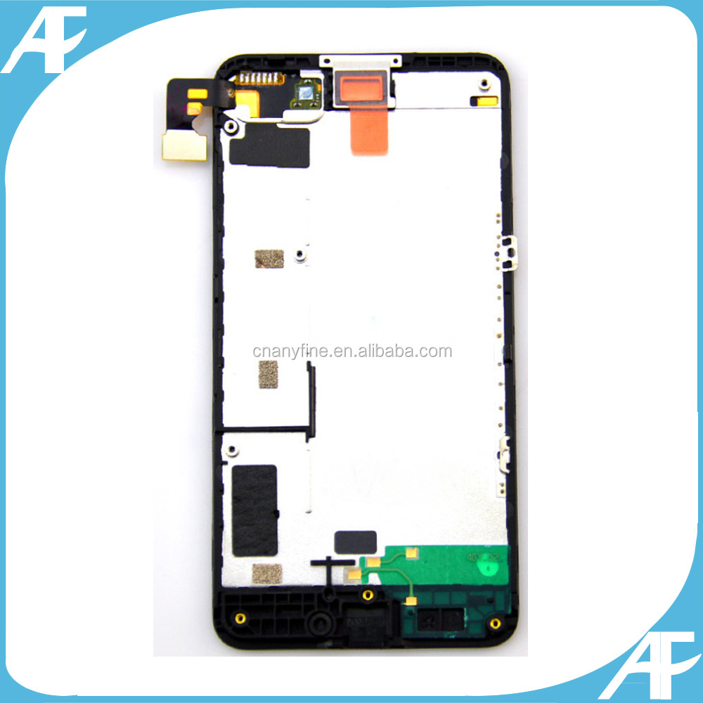Wholesale touch screen digitizer for Nokia for Nokia Lumia 630 lcd with frame