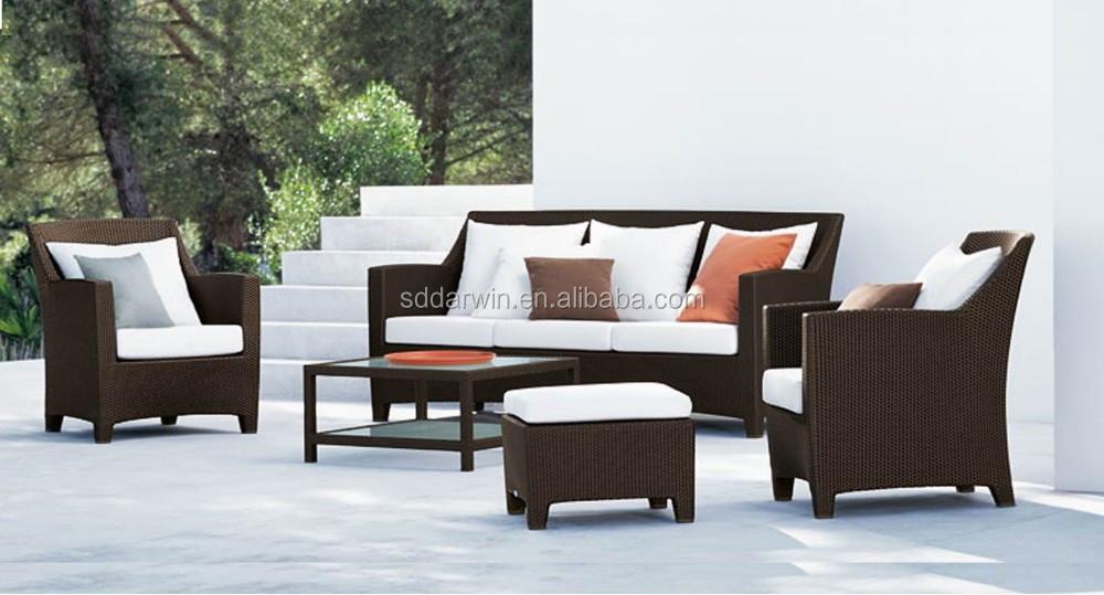 sof de mimbre muebles de jardn artificial barato outdoor