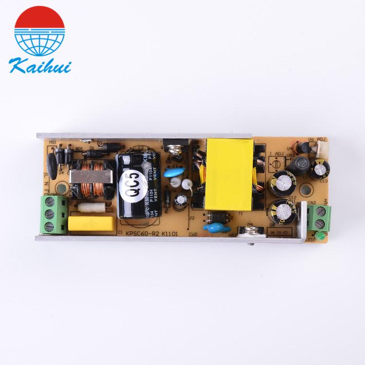 Kaihui single 60w 12v cctv switching mode power supply
