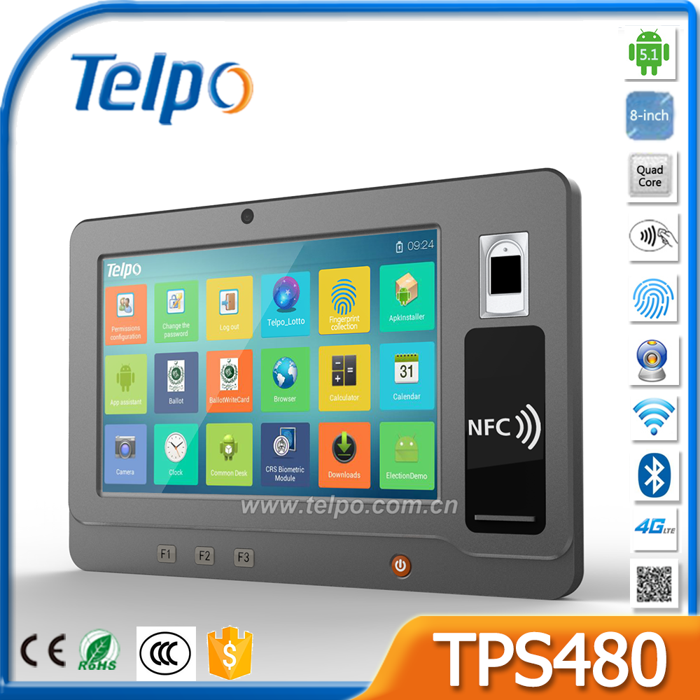 Telepower TPS480 Best Handheld Tablet Monitor PDA with Dual camera