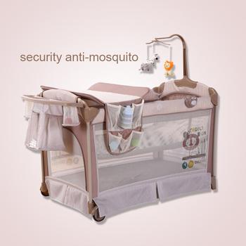 Babybed Aan Bed.Pasgeboren Baby Bed Multifunctionele Folding Crib Box Draagbare Bed Vouwen Swing Reizen Babybed Buy Baby Bed Multifunctionele Baby Bed Baby Vouwen