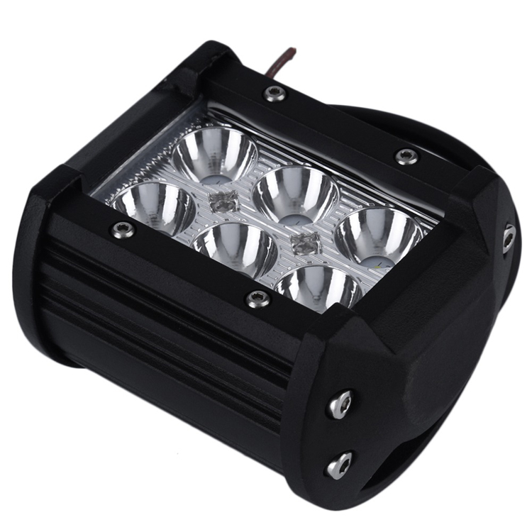 "12V off road led work light bar 4"" 18w faro led 4x4"