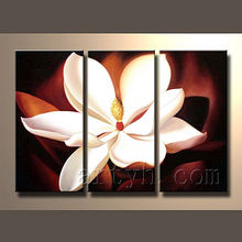 Beautiful handmade flower painting for home decoration