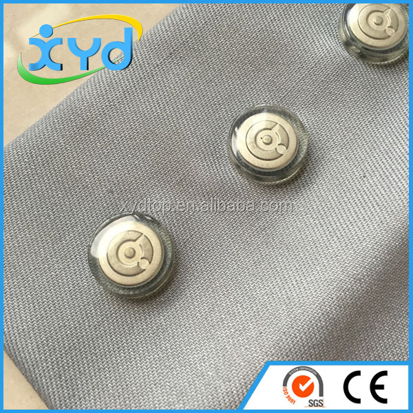 Metal Press Stud Fasteners Male And Female Sets