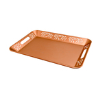 Chinese promotion handles iron customize rolling tray