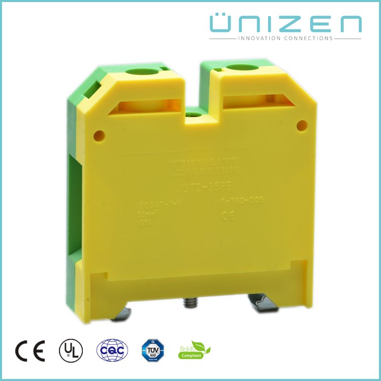 UNIZEN Electrical Input Output Terminal Block Heat Shrink Butt Connector