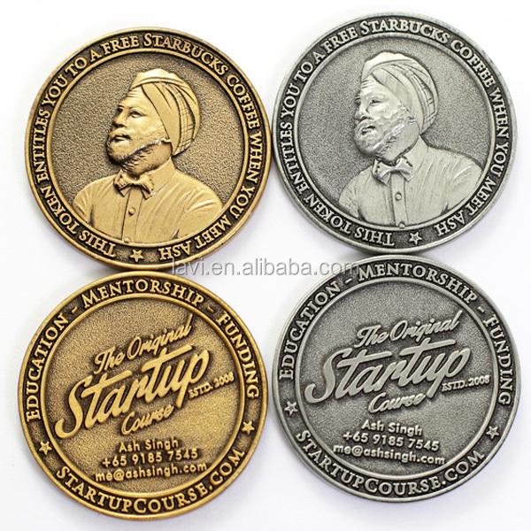 Doppel Edelmetall Seltene Alte Antiqu East India Company Münze Für