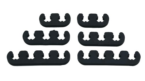 Mr. Gasket 9728 Competition Wire Separator Kit - Black