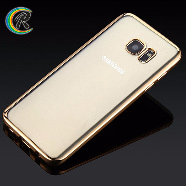Guangzhou for samsung s6 edge cover for Samsung S6 edge S7 edge new phone Plating Electroplating case