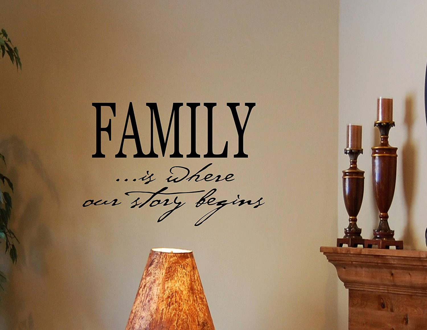 Buy Home Where Our Story Begins Family Wall Quotes Words Sayings
