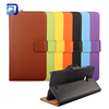 2017 latest colourful mobile phone case flip cover leather pouch with belt loop for Nokia N540