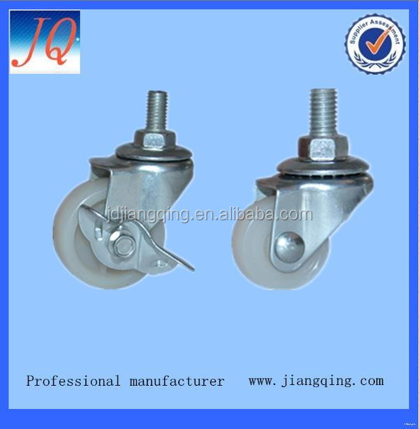 Top quality crazy Selling side mount caster pvc wheel 3 inch