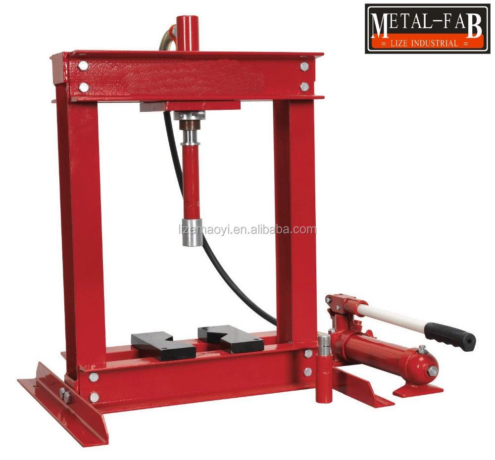 4 Ton Manual Hydraulic Bench Shop Press With Ce Buy Shop