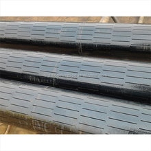 High quality oil screen casing pipe/spiral welded slotted pipe