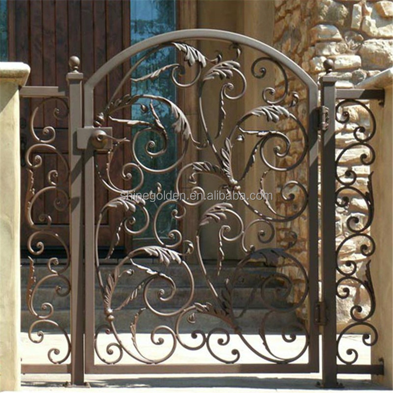 Iron Pipe Gate Design Metal Door Frame
