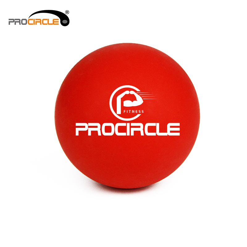 Procircle Wholesale Factory Rubber Massage Muscle Release Ball