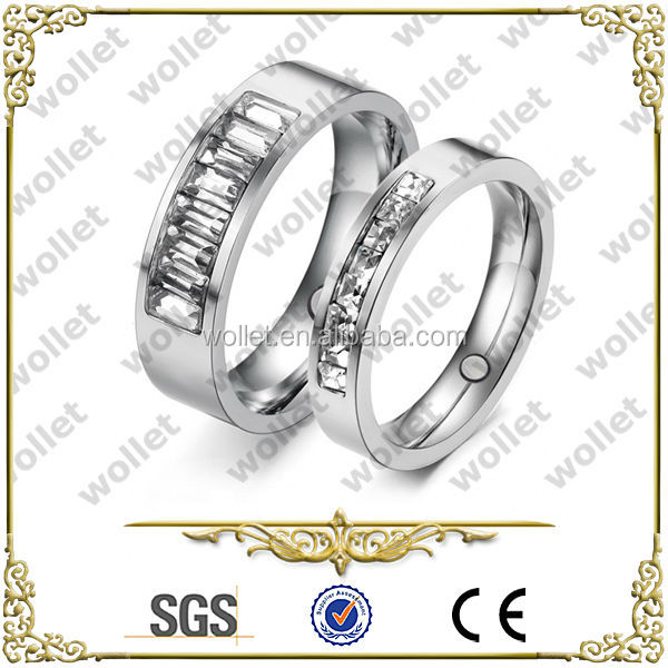 Rhombus High Polishing Fingerring for Wedding Jewelry surgical tungsten carbide masonic rings
