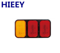 6 inch Oval LED Tail Lights, STOP/TURN/TAIL led truck tail lamp