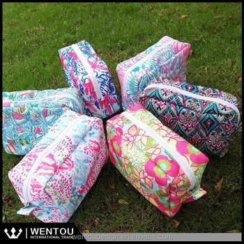 Wholesale New Design Lilly Pulitzer Inspired Makeup Bags - Buy Lilly ... cb2fe4fe854a5