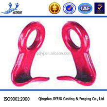 Hardware Rigging G80 zinc plated carbon forged barrel hook