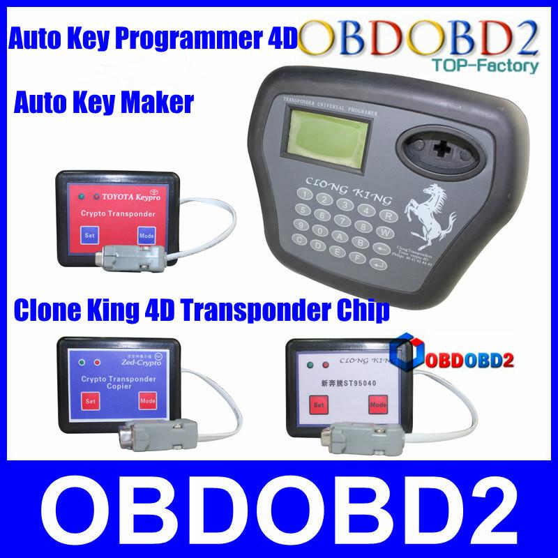 Super Transponder Chip Clone King 4d Auto Key Programmer: Aliexpress.com : Buy 4D Car Chip Transponder Clone King