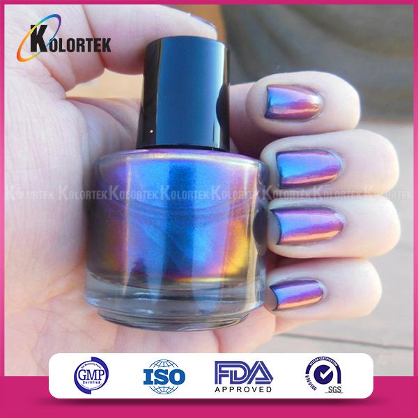 Duo Chrome Nail Polish Pigment Powder For Makeup Beauty - Buy Duo ...