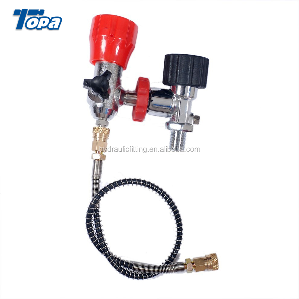 Air Compressor Hpa Ninja Paintball 3000psi Co2 Output Mobile Fill Station -  Buy Filling Pump,Air Filling Station,Filling Station For Sale Product on