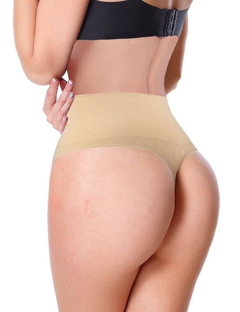 0e17d7c326ab9 DODOING Women Waist Cincher Girdle Tummy Slimmer Sexy Thong Panty Shapewear  Underwear