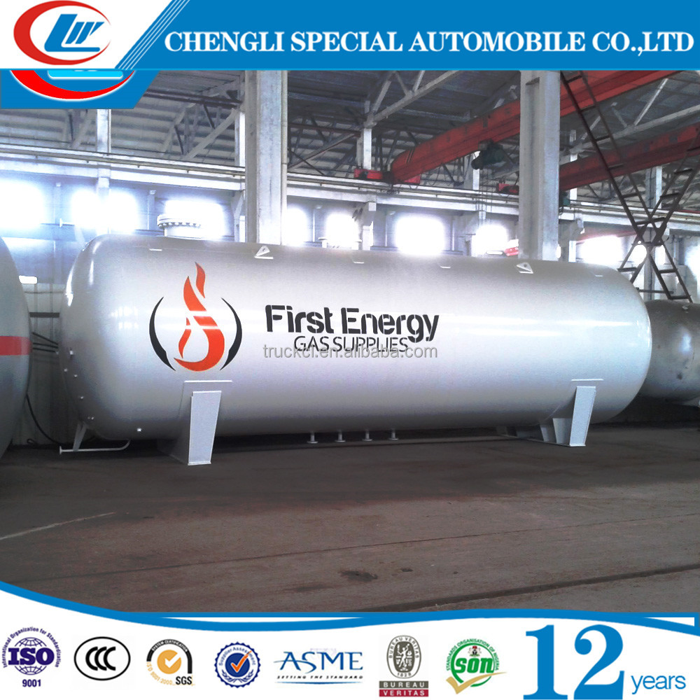 50CBM ASME 20ton propane storage tanks pressure vessels LPG tank for sale
