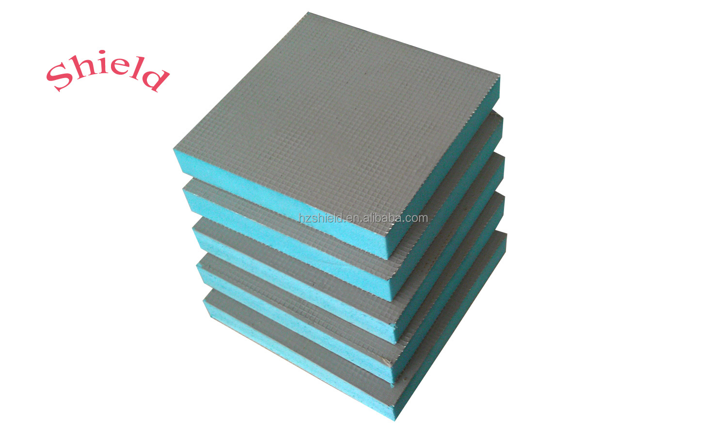 Bathroom Xps Wall Insulation And Floor Waterproof Tile Backer Board ...