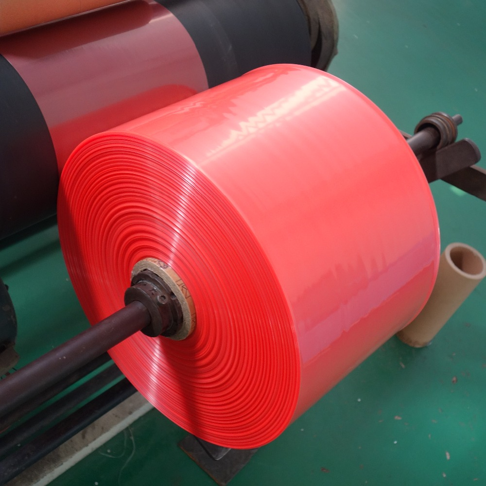 Custom colour ldpe film rolls for making plastic flat bags/Vest bags/T-shirt bags with 2mil 1.8mil thickness