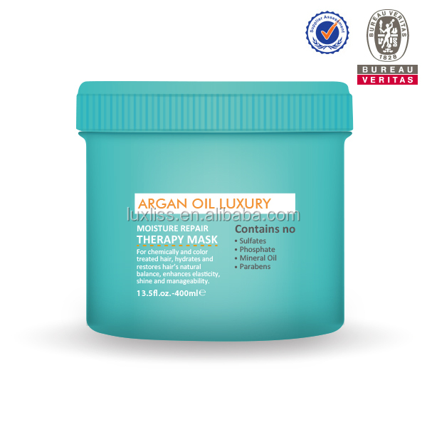 Origanic Argan Oil Deep repair daily care hot sale nutritive relaxer salon use mask