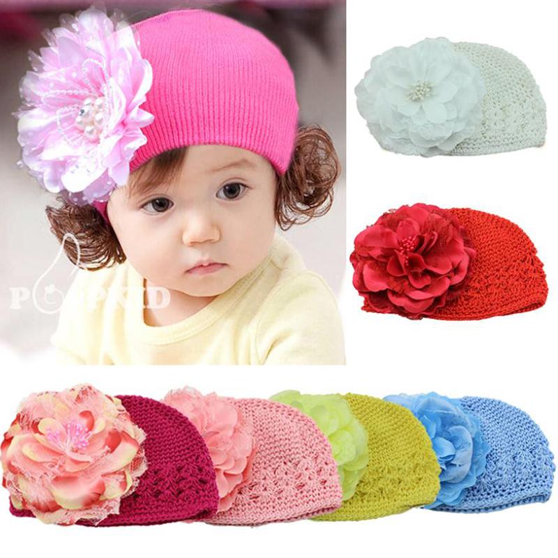 Winter Warm Cute Baby Girl Infant Toddler Hand Crochet ...