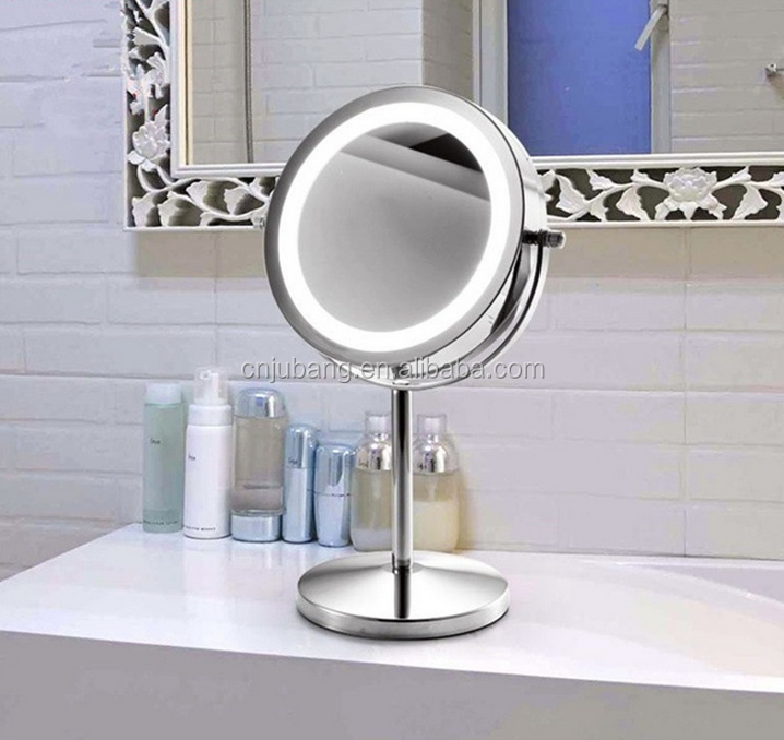 Led Lighting Dressing Table Mirrors Round Led Desktop Makeup Mirorr Standing Table Mirror With Lights Buy Led Lighting Dressing Table Mirrors Round Led Desktop Makeup Mirorr Standing Table Mirror With Lights