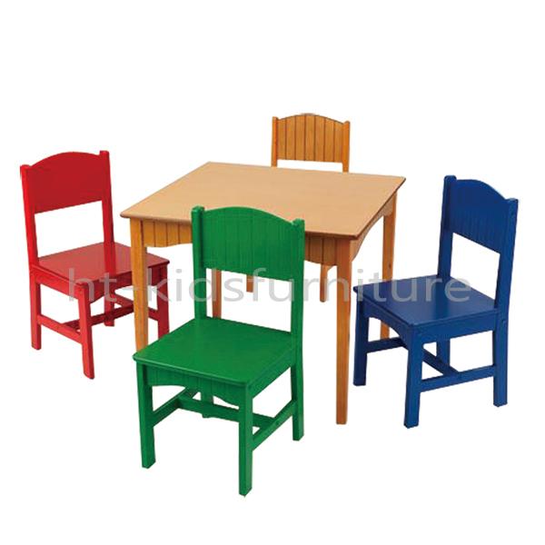 Pastel hout eenvoudige montage vier bijpassende kinderen for Meubilair groothandel