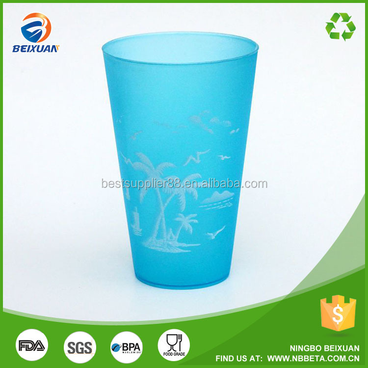 Simple design Plastic toothbrush cup plastic tumbler