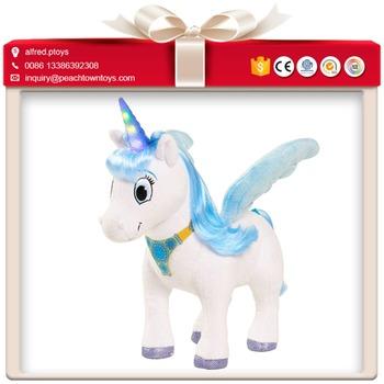Wing Unicorn Elephant Toy Stuffed Animal Stand Buy Stuffed Animal