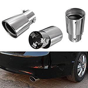 New Stainless Steel Car Exhaust Drop Down Tail Pipe Diesel Trim Muffler by Bcn