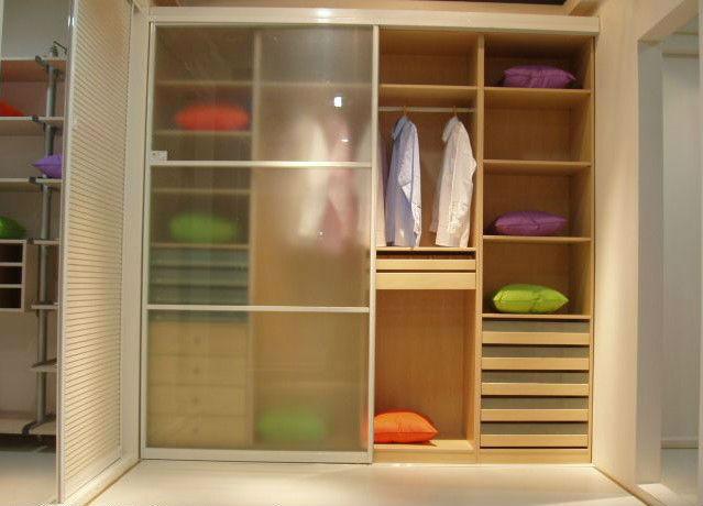 Melamina armario woodn armario muebles de dormitorio for Closet de madera para dormitorios