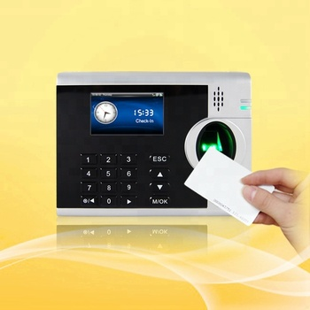 Free Software Fingerprint Time Clocks For Small Business 3 Inch Tft