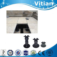 Marble WPC decking flooring support plastic waterproof pedestals base