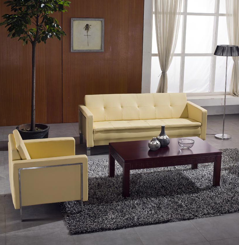 Perfect Light Yellow Leather Sofa, Light Yellow Leather Sofa Suppliers And  Manufacturers At Alibaba.com