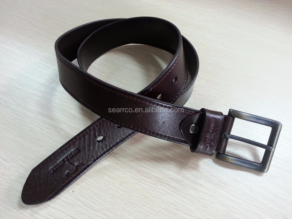 Brand Cowhide leather Belt Designer Man's Calf leather Belt