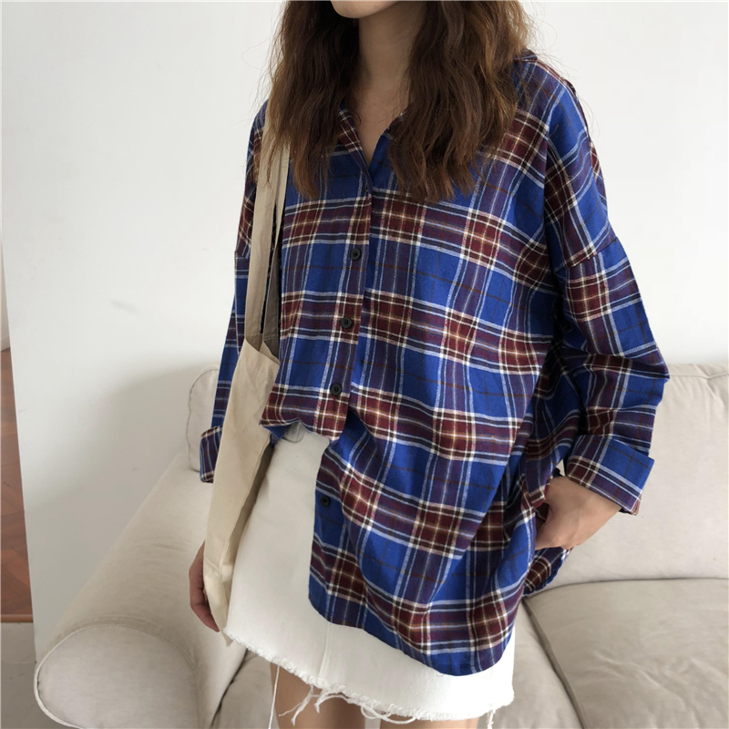 Factory Combed cotton yarn dyed  stripe check shirt  fabric flannel