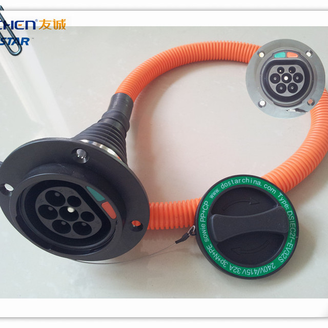 SAE J1772 Electric car charging Plug SAE J1772 AC charging socket ,EV charging connectors
