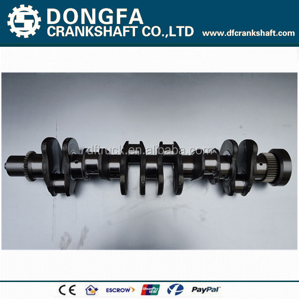Factory outlet ISDe diesel engine crankshaft 5301009 forging steel with discount