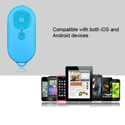 universal Bluetooth Selfie shutter remote controller for iOS Android Smartphone Zoom in/out music play volume control